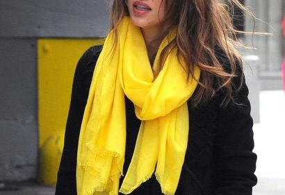 Jessica Alba Yellow Scarves.jpg
