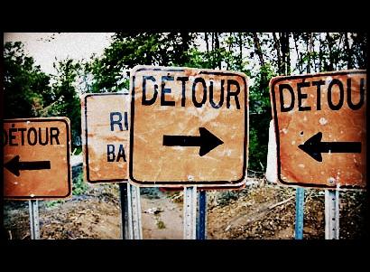 The Pilgrim's Way-Detour