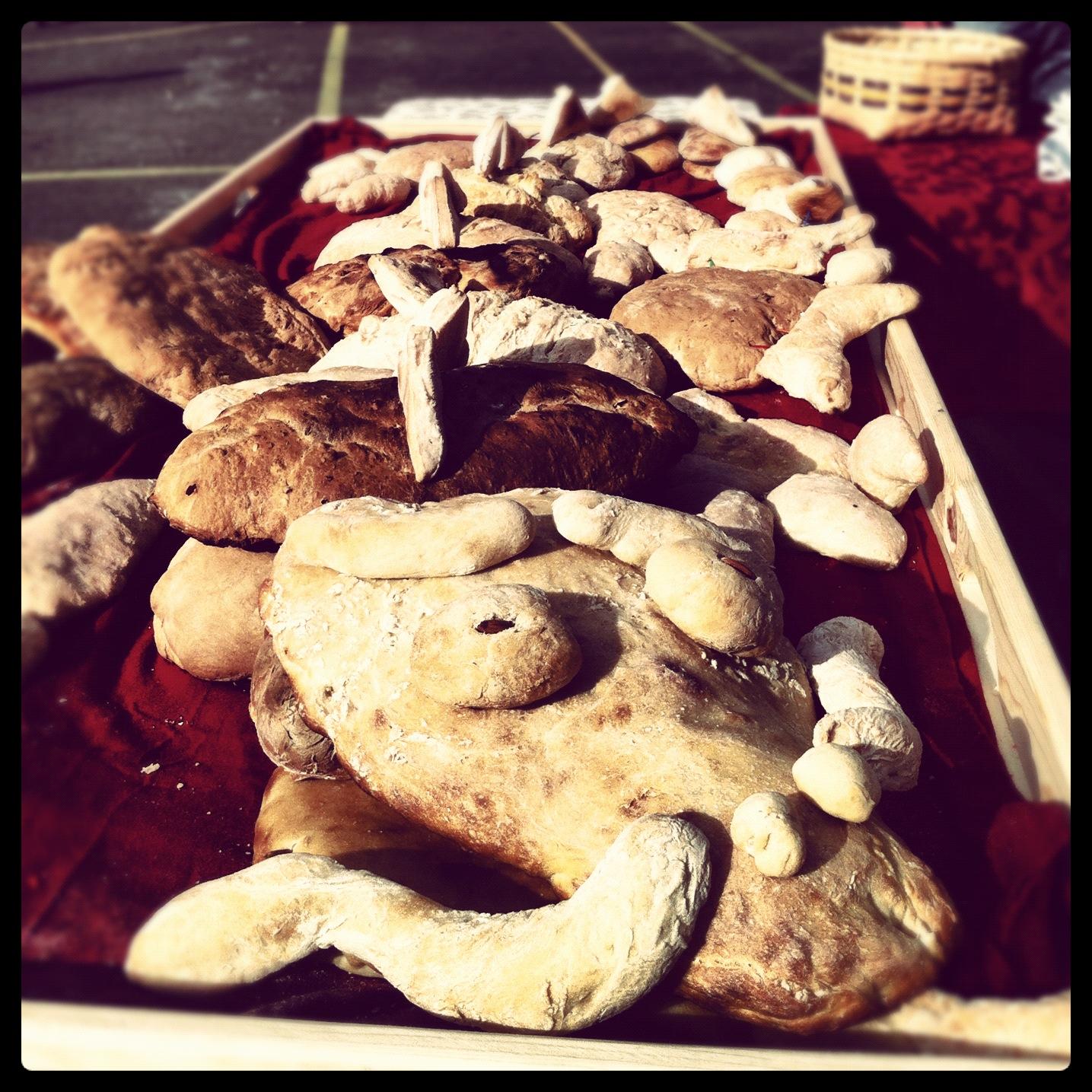 michaelmas dragon bread