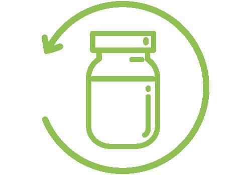 Replenish Unpackaged Living Kalamunda - Step One - Choose your container.