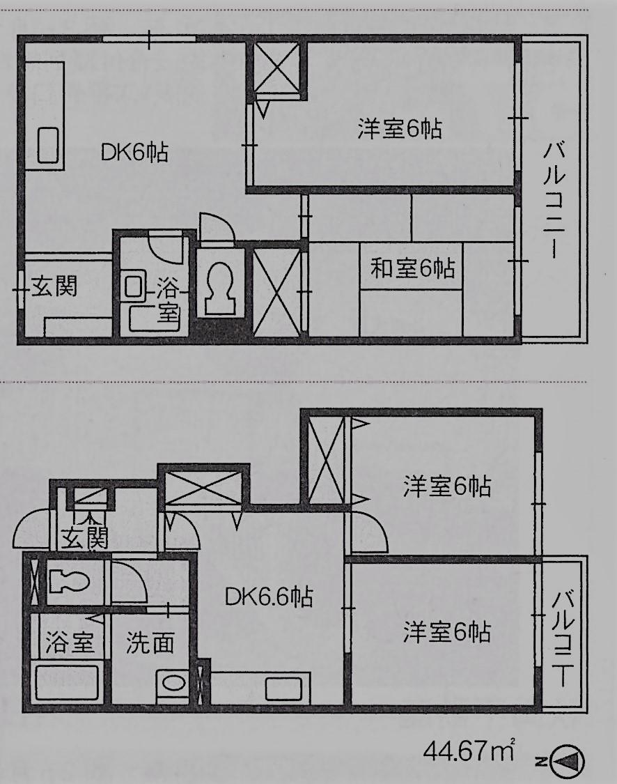 DK是廚房與餐廳的統稱,如果是LDK就代表了起居、廚房與餐廳的較高級住宅。