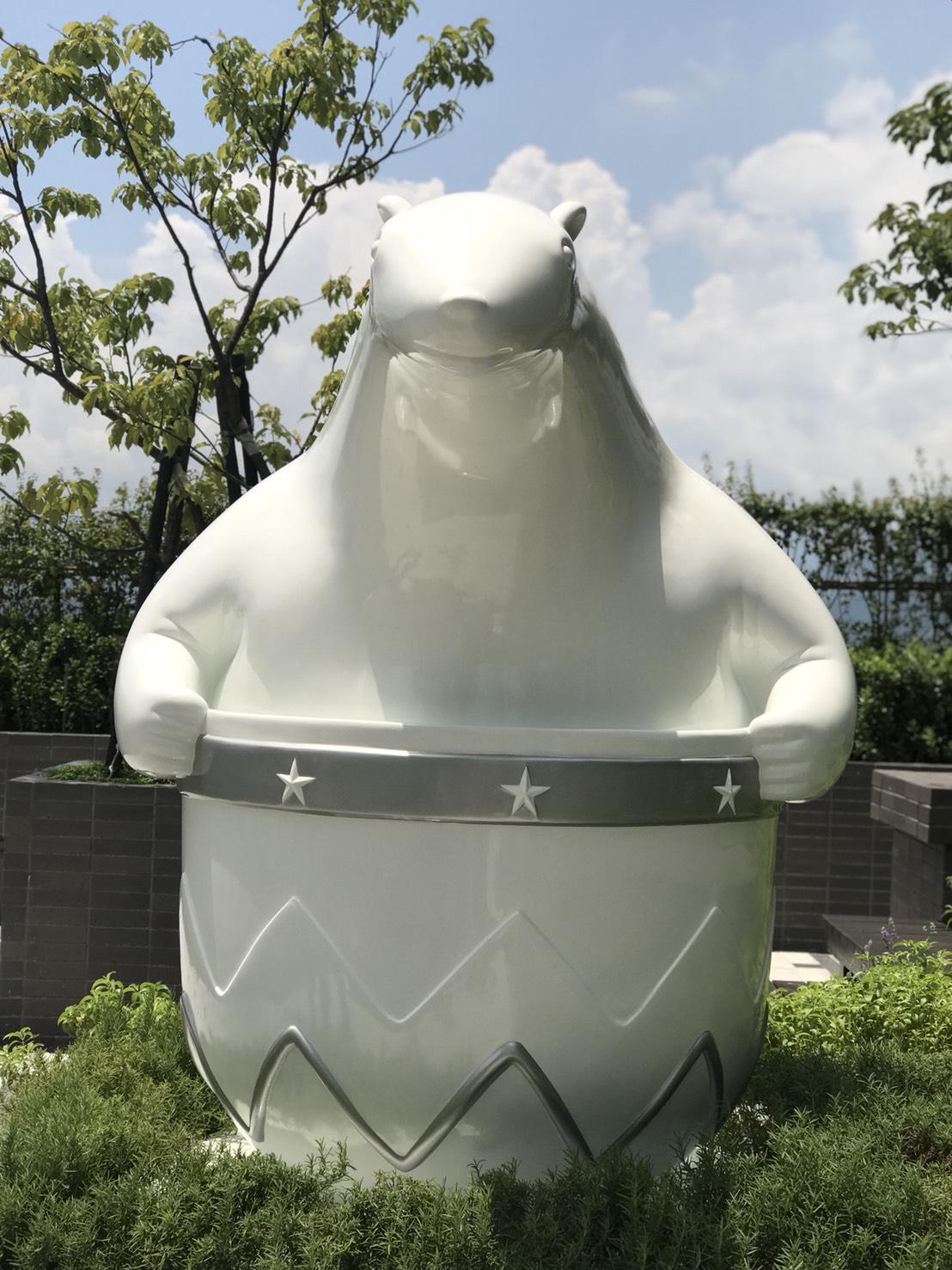 望向家鄉的北極熊/ 廣宇晴朗