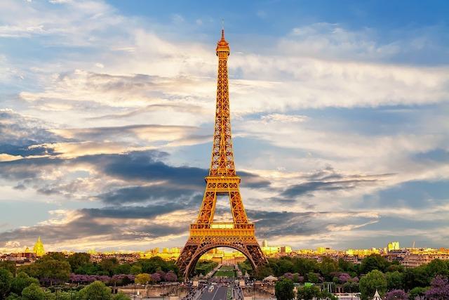 埃菲爾鐵塔。圖片來源:Pixabay