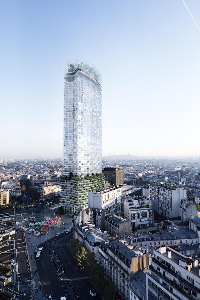 即將改建完成的蒙帕納斯大樓。圖片來源:Nouvelle AOM