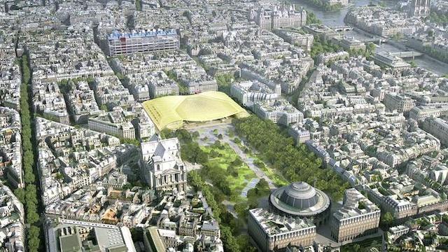 巴黎大堂。圖片來源: www.lefigaro.fr