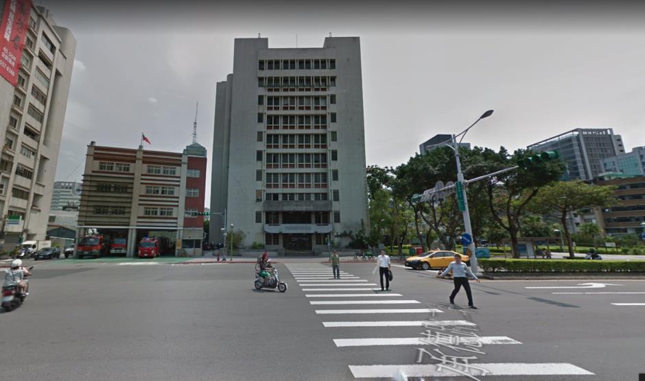 未拆除前的外事收容所 - 2017Google街道圖