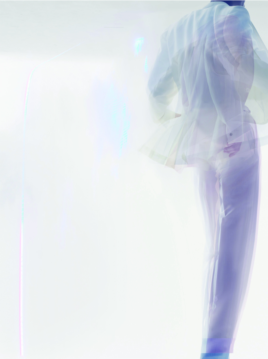 Unstructured image 2007. Photograph Nick Knight.