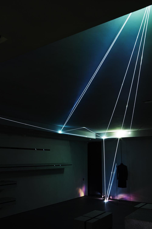 Fibre optic thread installation, A/W 2013.