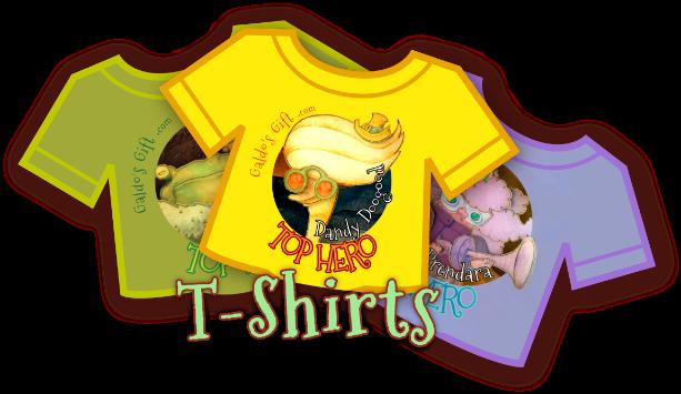 Galdo's gift T-shirt badge