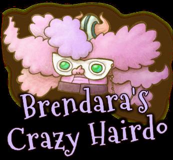 Brendara's Crazy Hairdo Head