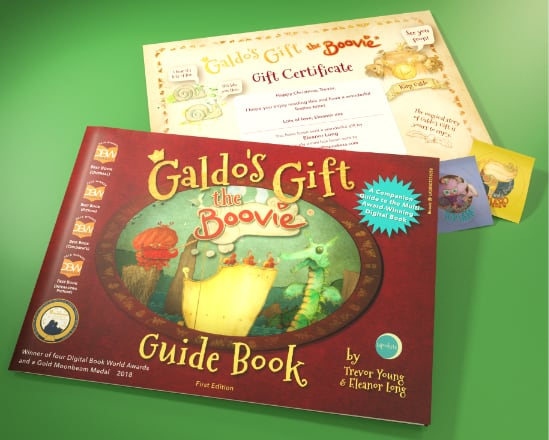 Printed guide to Galdo's Gift