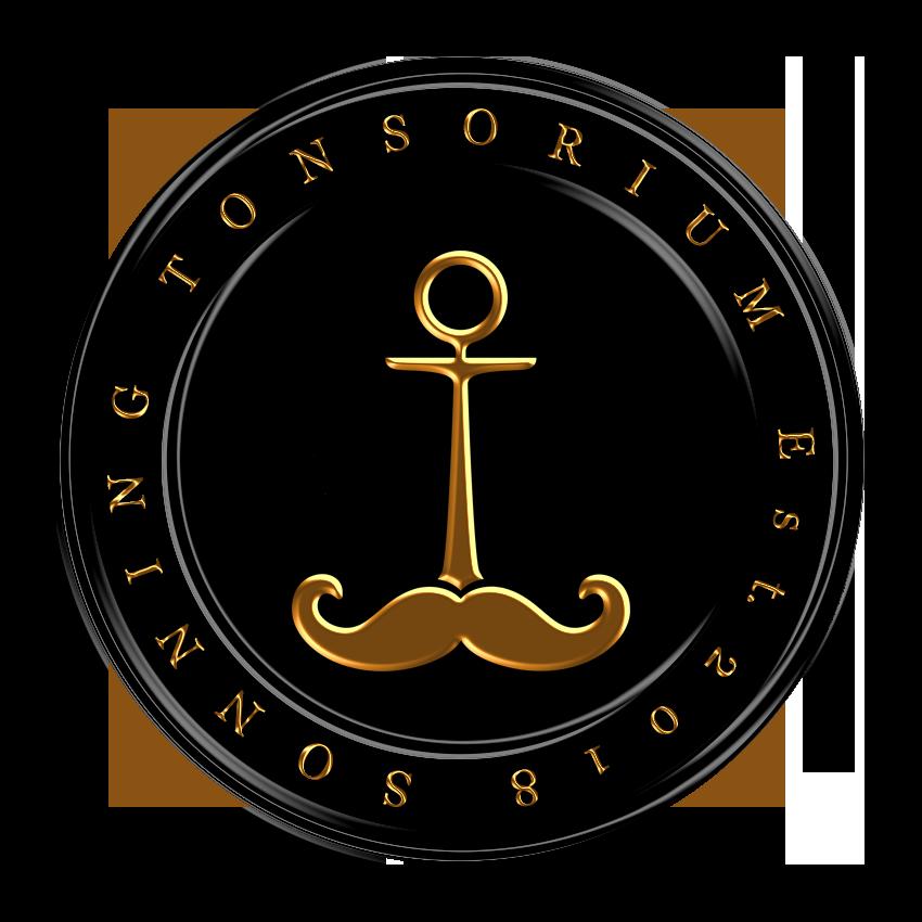 Sonning Tonsorium pin badge design elite.png