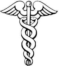 The rod of Caduceus, for the protection of merchants, commerce and thieves.