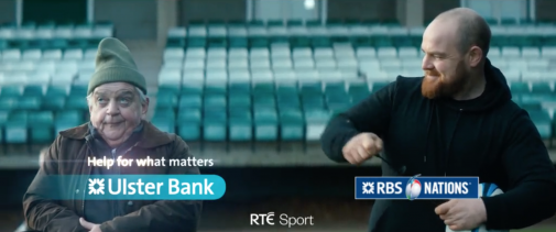 ULSTER BANK: TV STINGS ART DIRECTION  VIEW PROJECT >>