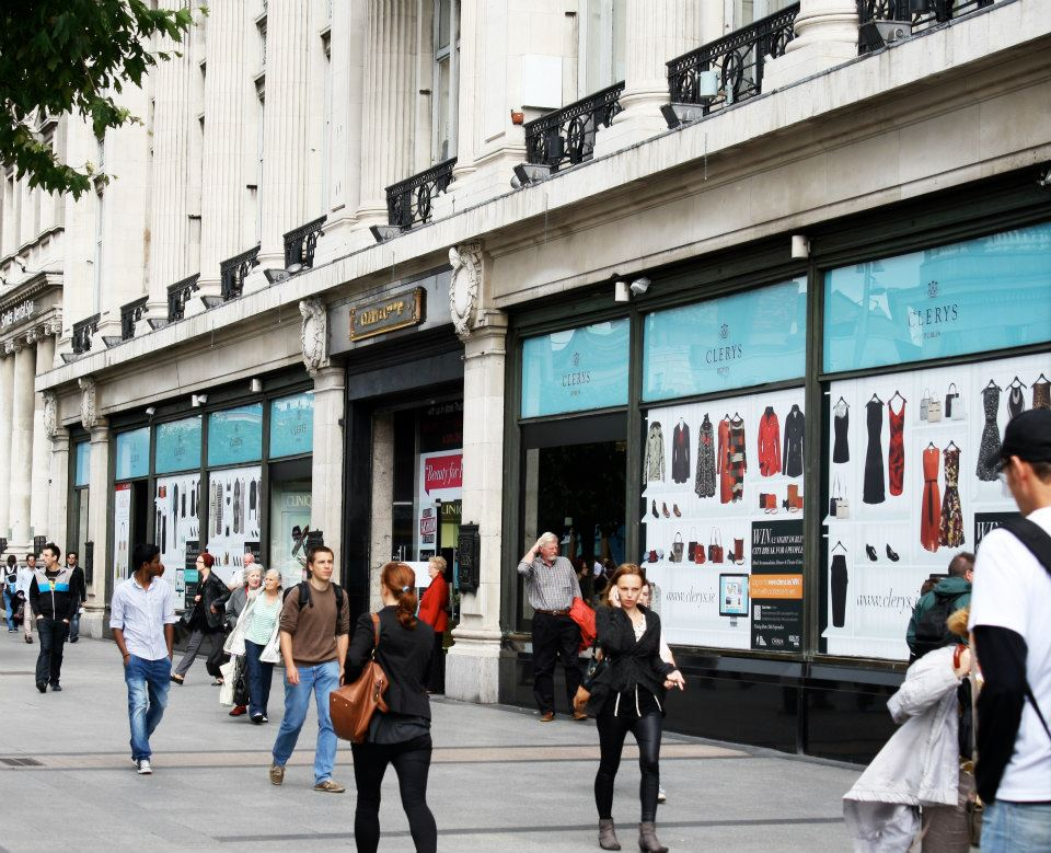 CLERYS DEPARTMENT STORE: ART DIRECTION / DESIGN  VIEW PROJECTS >>