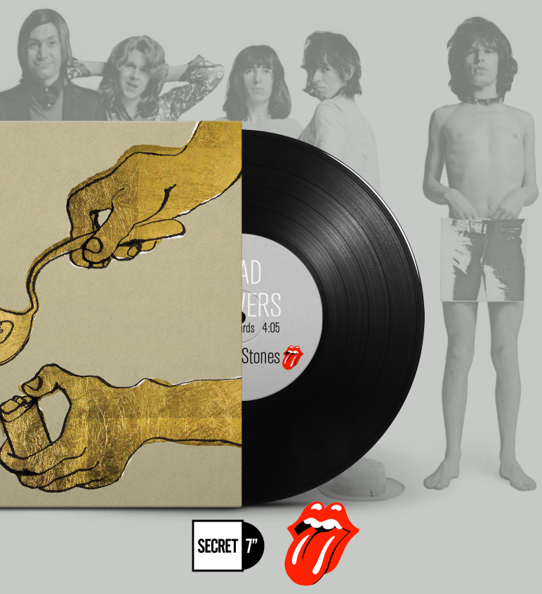 "THE ROLLING STONES: 7"" SINGLE DESIGN  VIEW PROJECT >>"