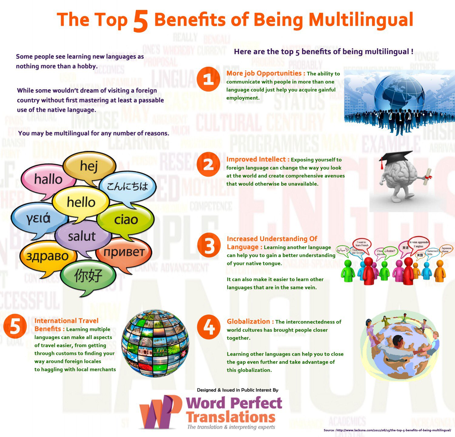 "Tweet - @AberdareMFL ""The top 5 benefits of being multilingual……"""