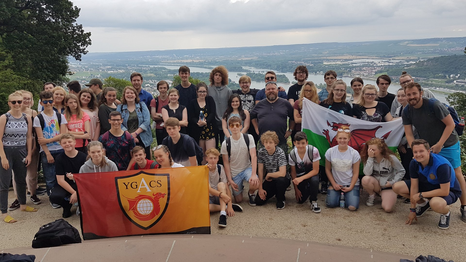 """And that's it… The final day in Rudesheim. What an amazing experience. The pupils of @AberdareSchool have been amazing! #JazzBand """
