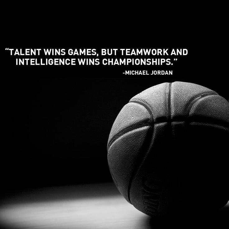"Theme of the Week - Teamwork | Gwaith Tîm  ""Talent wins games, but teamwork and intelligence wins championships"" - Michael Jordan"