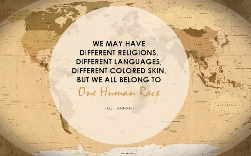 Theme of the Week - Equality   Cydraddoldeb  'We may have different religions, different languages, different coloured skin, but we all belong to one human race. We all share the same basic values.' - Kofi Annan
