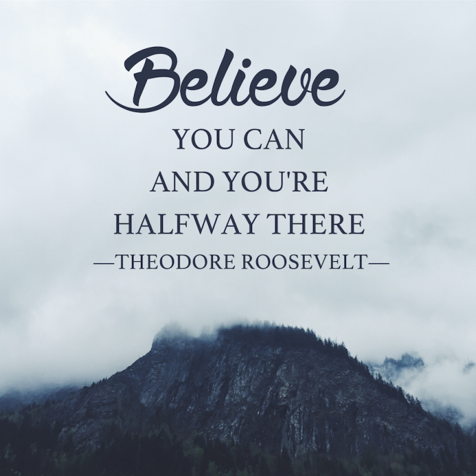 Theme of the Week - Hopes Dreams & Ambitions | Gobeithion, Breuddwydion ac Uchelgesiau  'Believe you can and you're halfway there.' Theodore Roosevelt