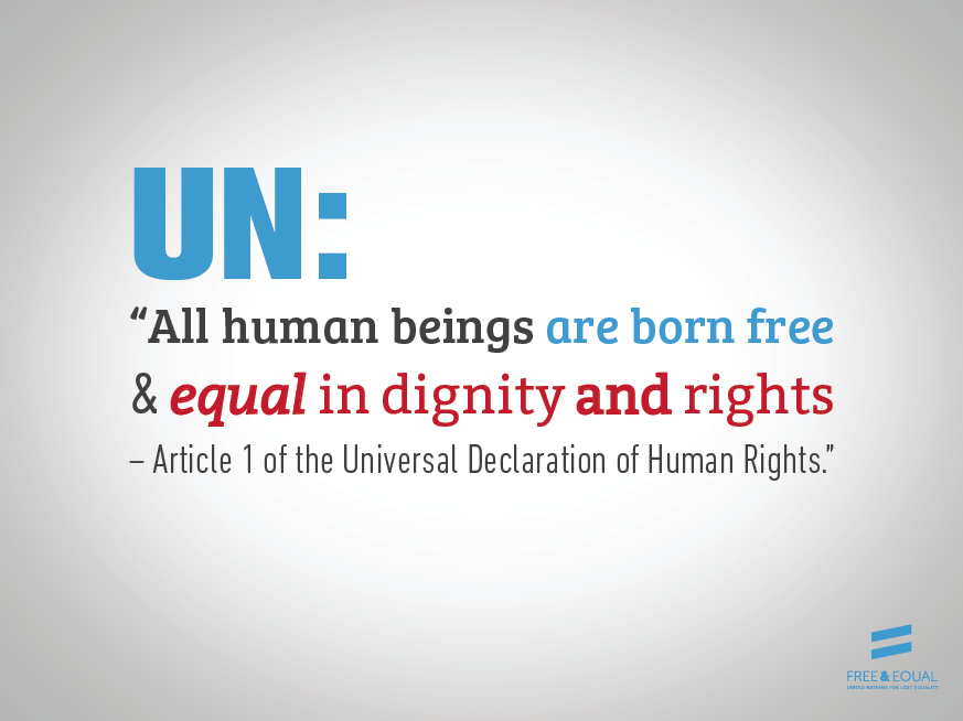 Theme of the Week - Human Rights | Hawliau Dynol  ''All humans are born free and equal.' Universal declaration of Human Rights.'