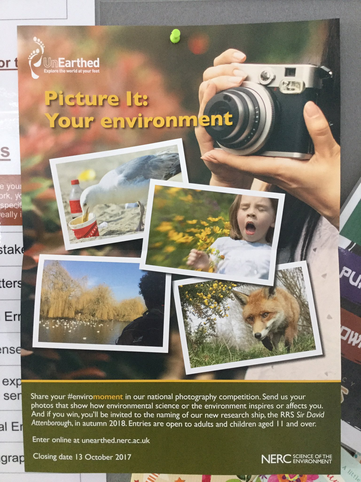 """""""Keep a look out for these posters on display in the Art department. A fun photography competition! Ask Miss Edwards for more details. """""""