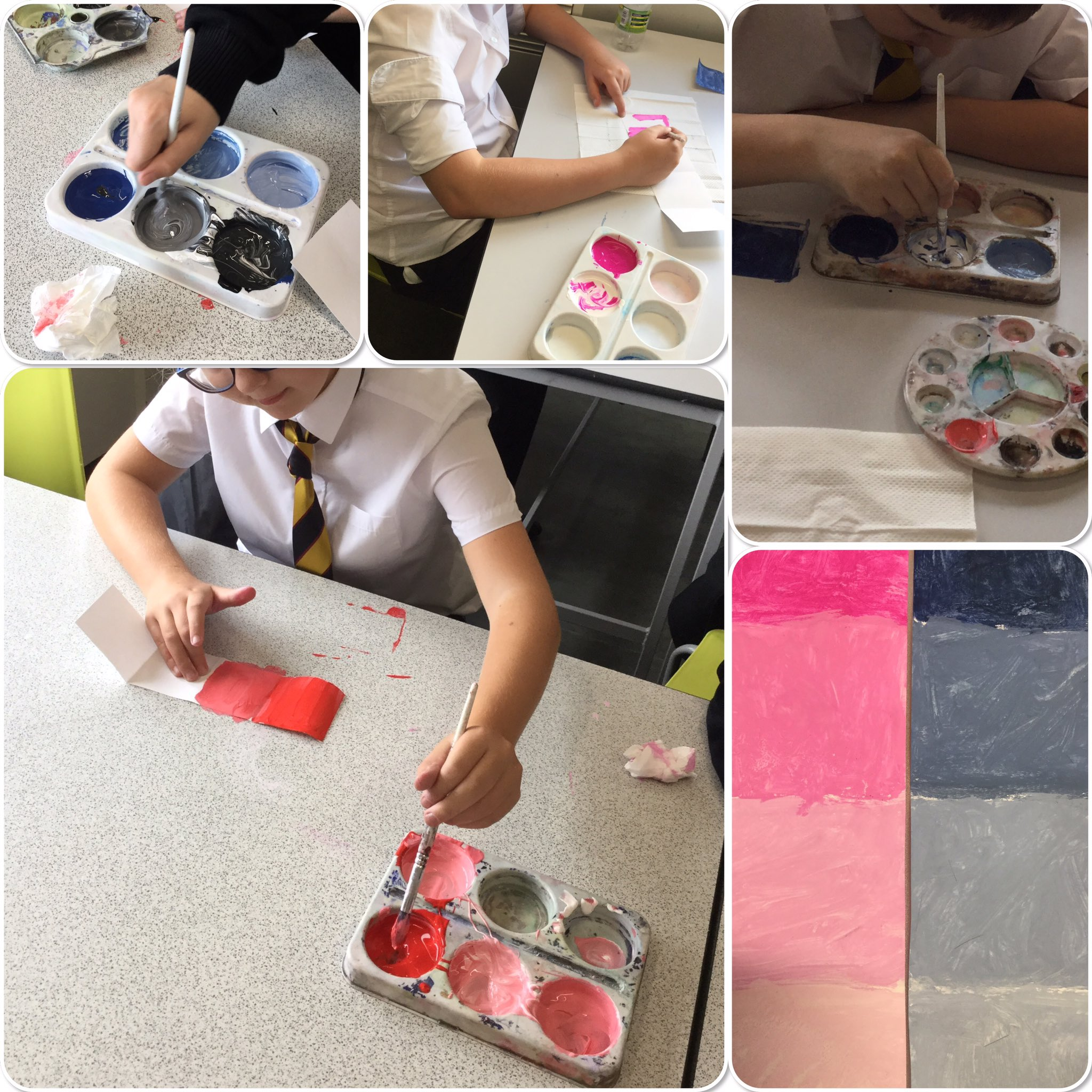 """705 experimenting with tone. Da iawn! Great lesson! """
