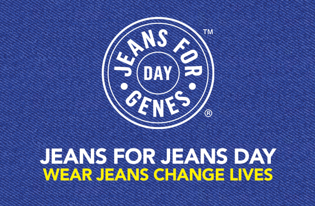 This Friday 22nd September we will be raising money for Jeans for Genes day.  6th form only will be allowed to wear jeans with their standard uniform by contributing £1 alternatively they may wear all non-school uniform by contributing £2.  All other students must wear full school uniform but are welcome to donate to the cause.  Thank you in advance for your support.   https://www.jeansforgenesday.org/