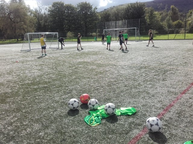 """""""ACS rugby and football academy working hard on a Monday afternoon."""""""