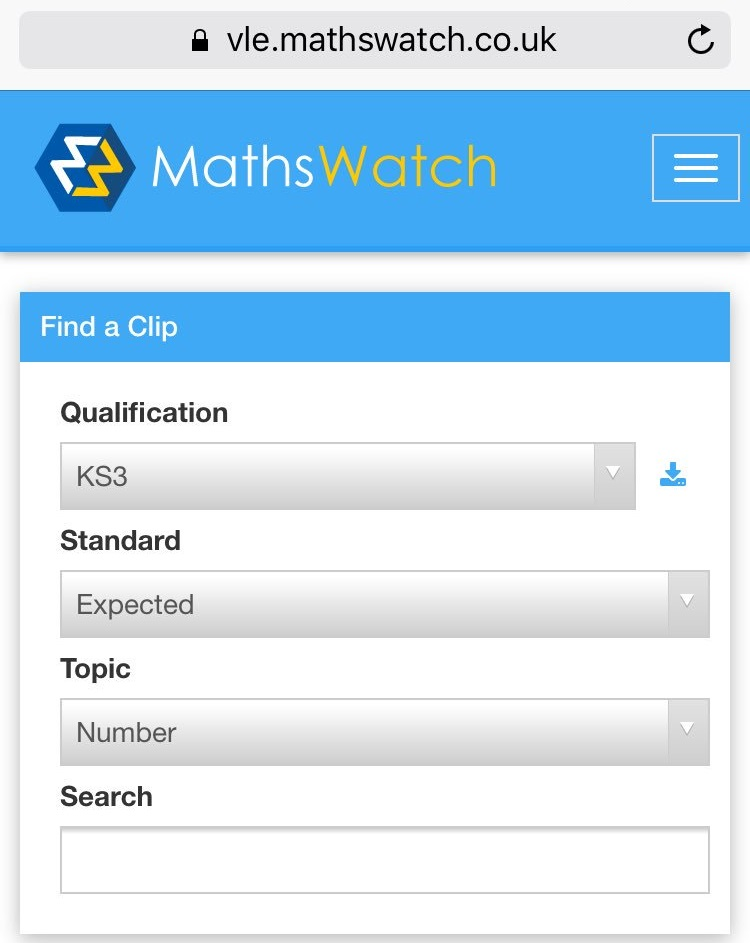 """Has your son/daughter logged into maths watch yet, username and passwords available from their maths teacher #mathswatch"""