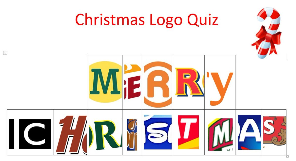 We'll leave you with this over the Christmas period! Let us know your answers... Merry Christmas