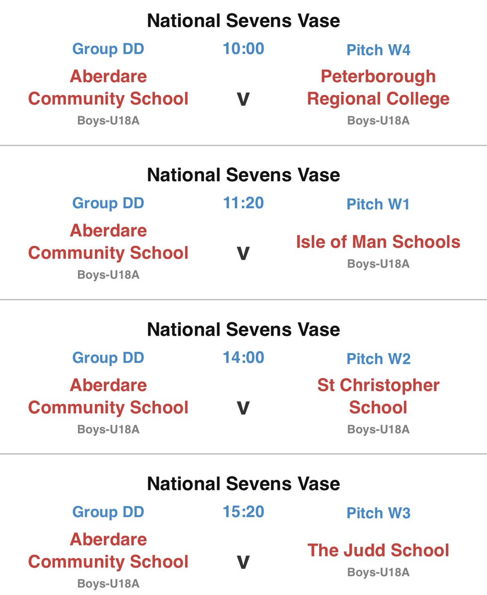 Finally our U18s group for @RPNS7.  Brilliant that we can take 3 sides up this year. Such a good experience and opportunity for these boys to play in the biggest and best 7s tournament in the world.