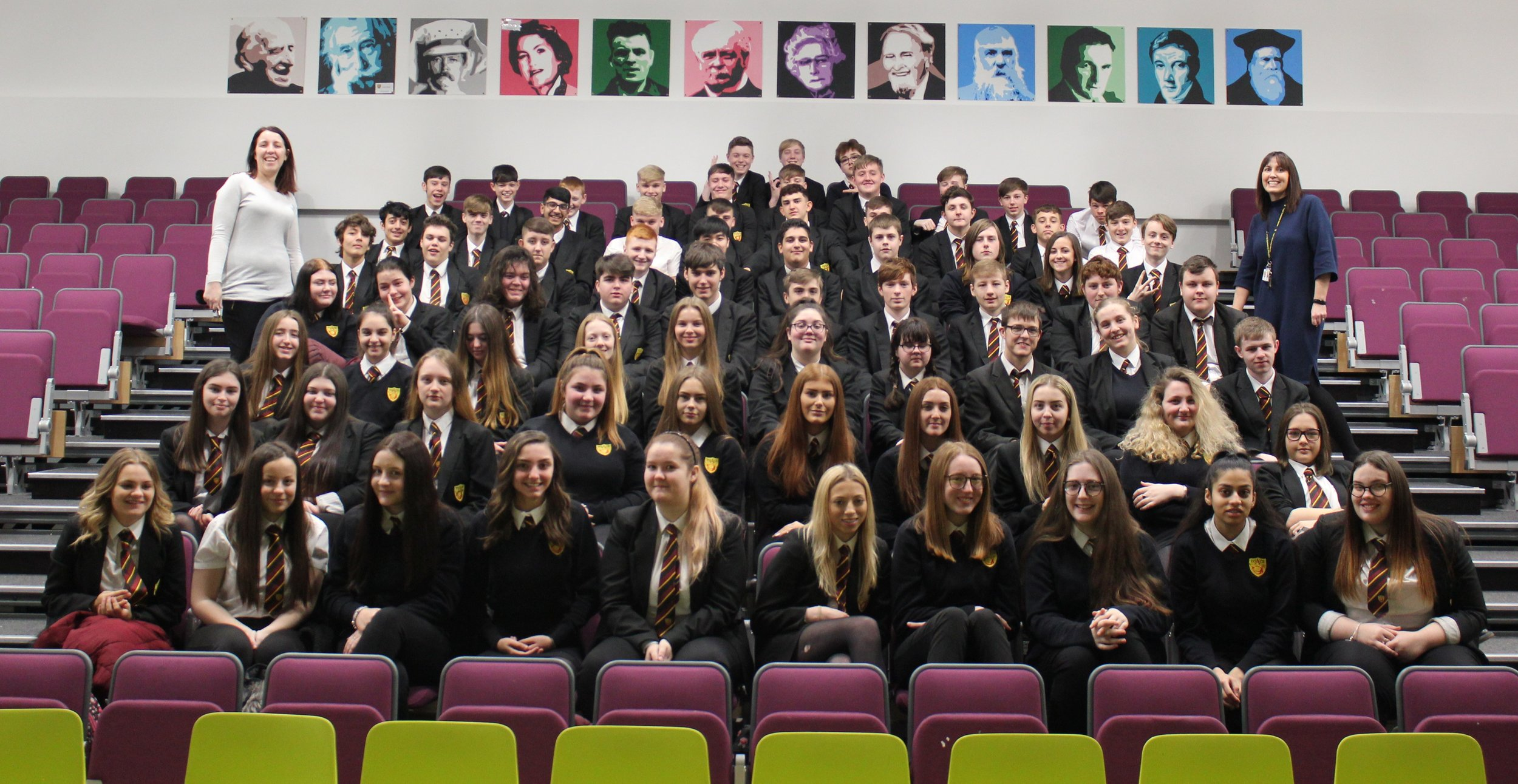 A massive congratulations to our 82 Year 11 Students who gained A*-C in their November GCSE Numeracy exam! #Proud #StriveBelieveAchieve