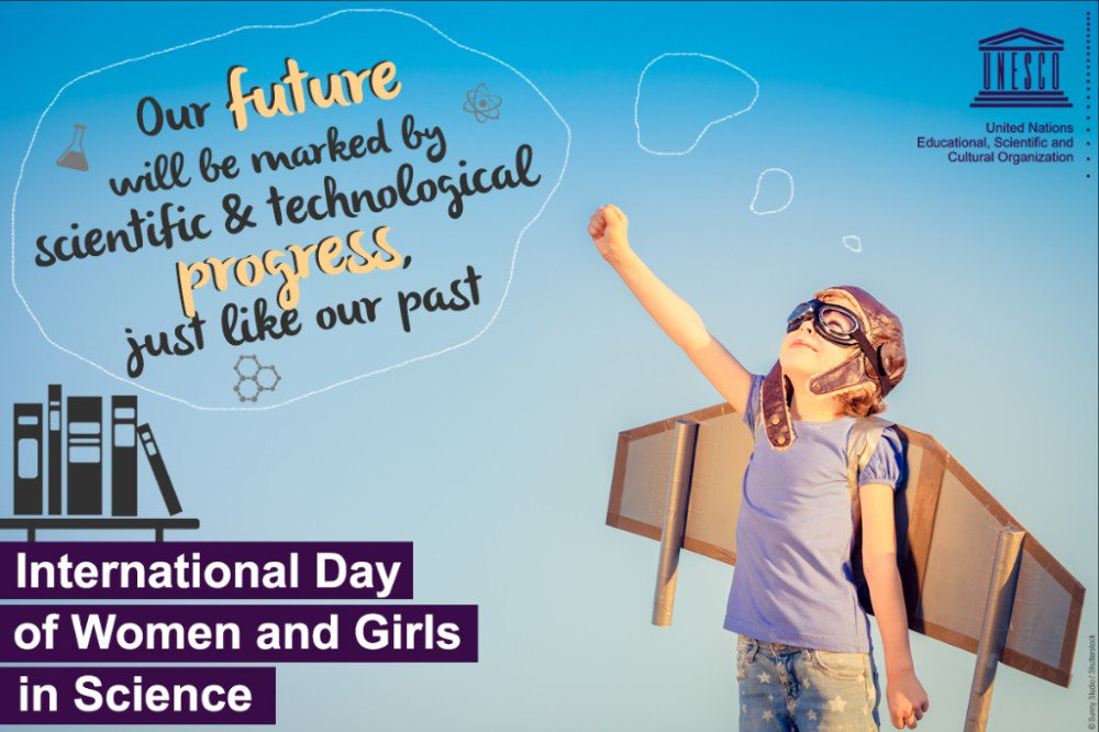 Today is international #WomenInScience day!  We can't wait to see how far our @ACS_science students fly!  #TheFuture #WomenInSTEM #StriveBelieveAchieve