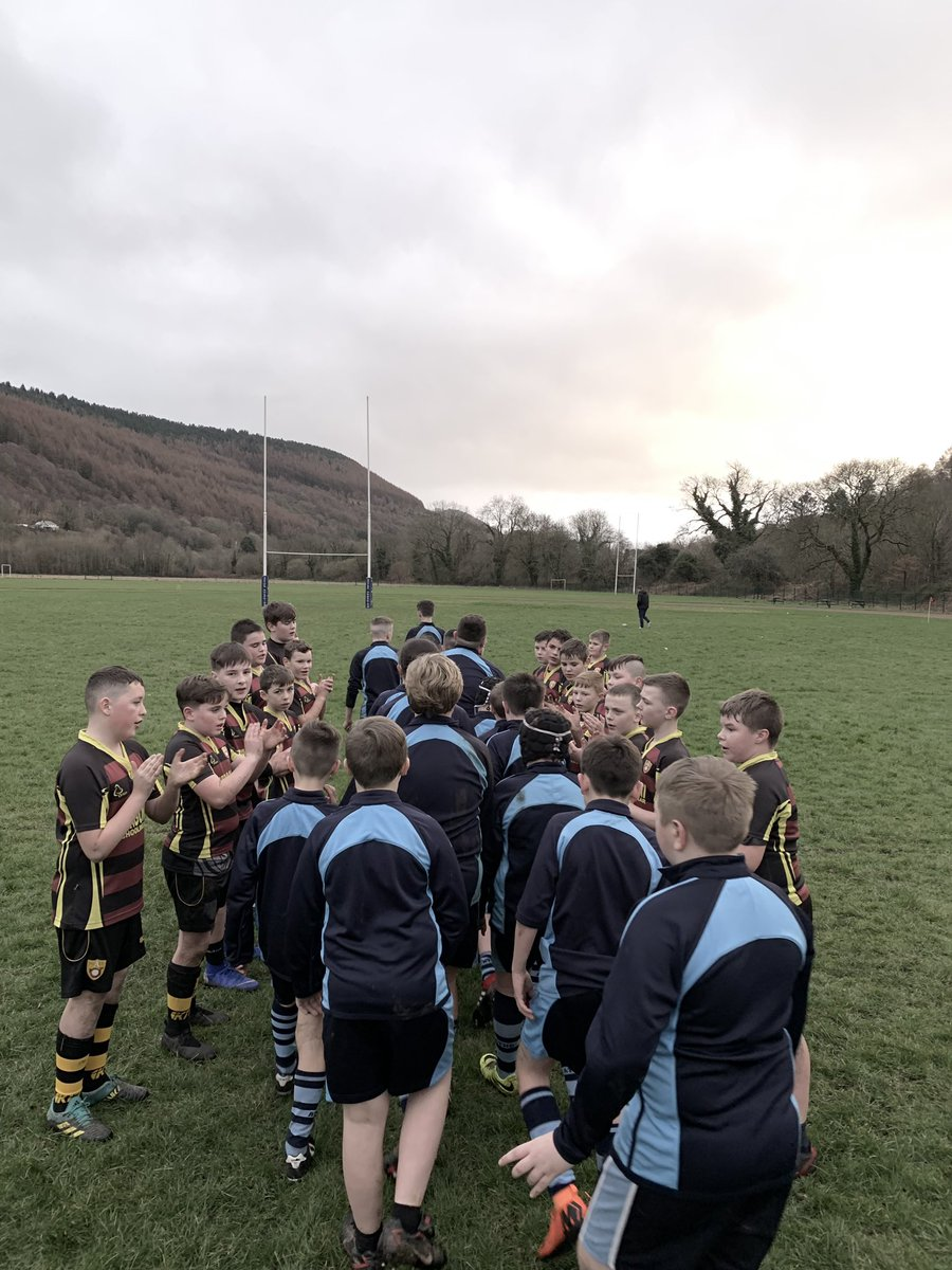Rugby is not all about winning but I'm so chuffed for year 7 today. They've improved so much since September and deserved their hard earned win today against Afon Taf.