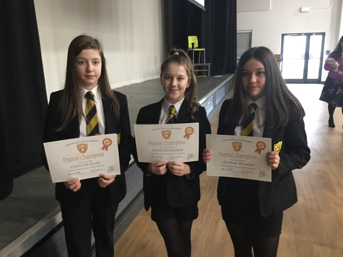 Congratulations to the following pupils, winners of our Year 8 e-safety DCF Competition #saferinternetday2019 @ACSDigitalLearn #esafety