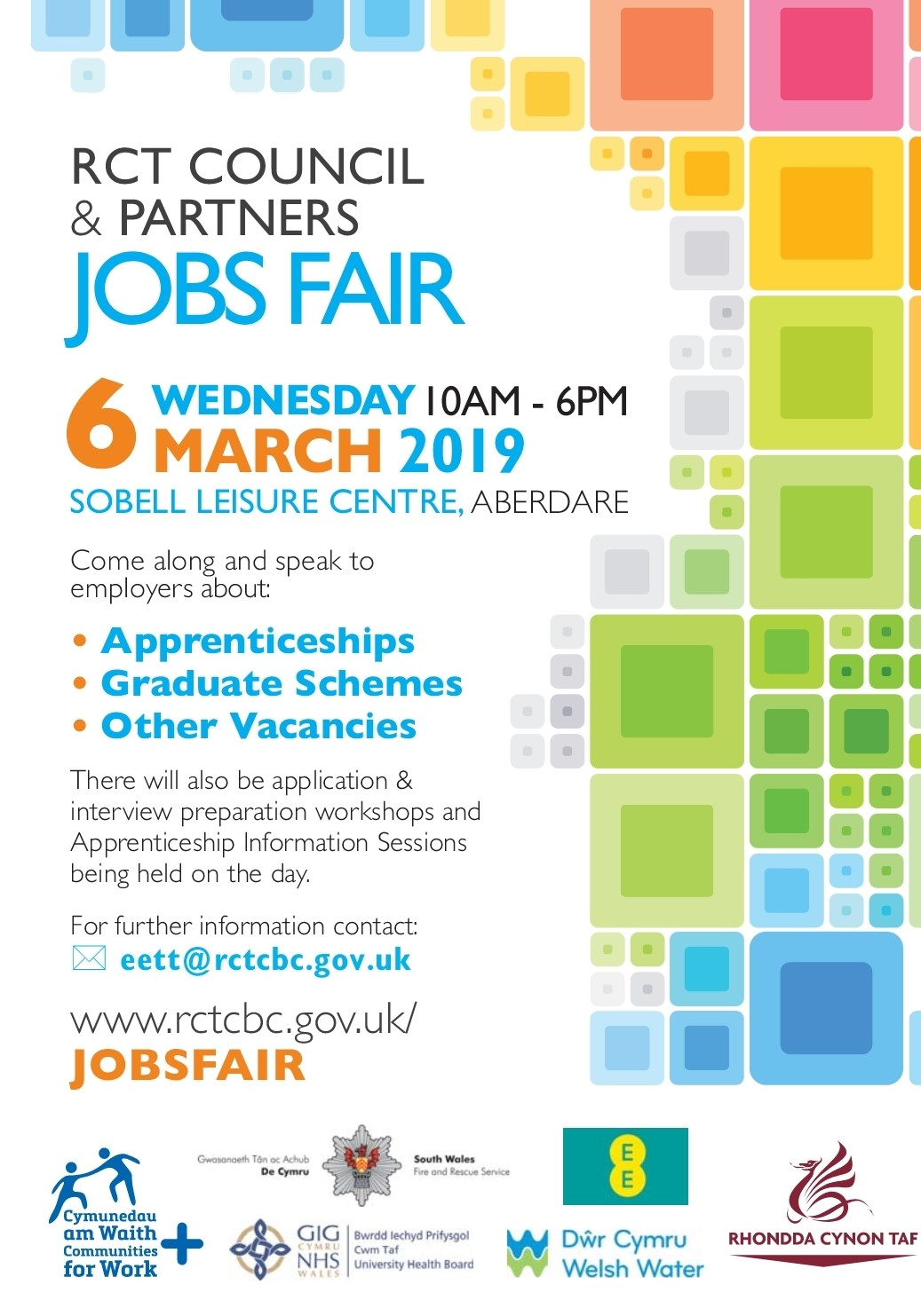 Jobs Fair — Aberdare Community School - Strive | Believe