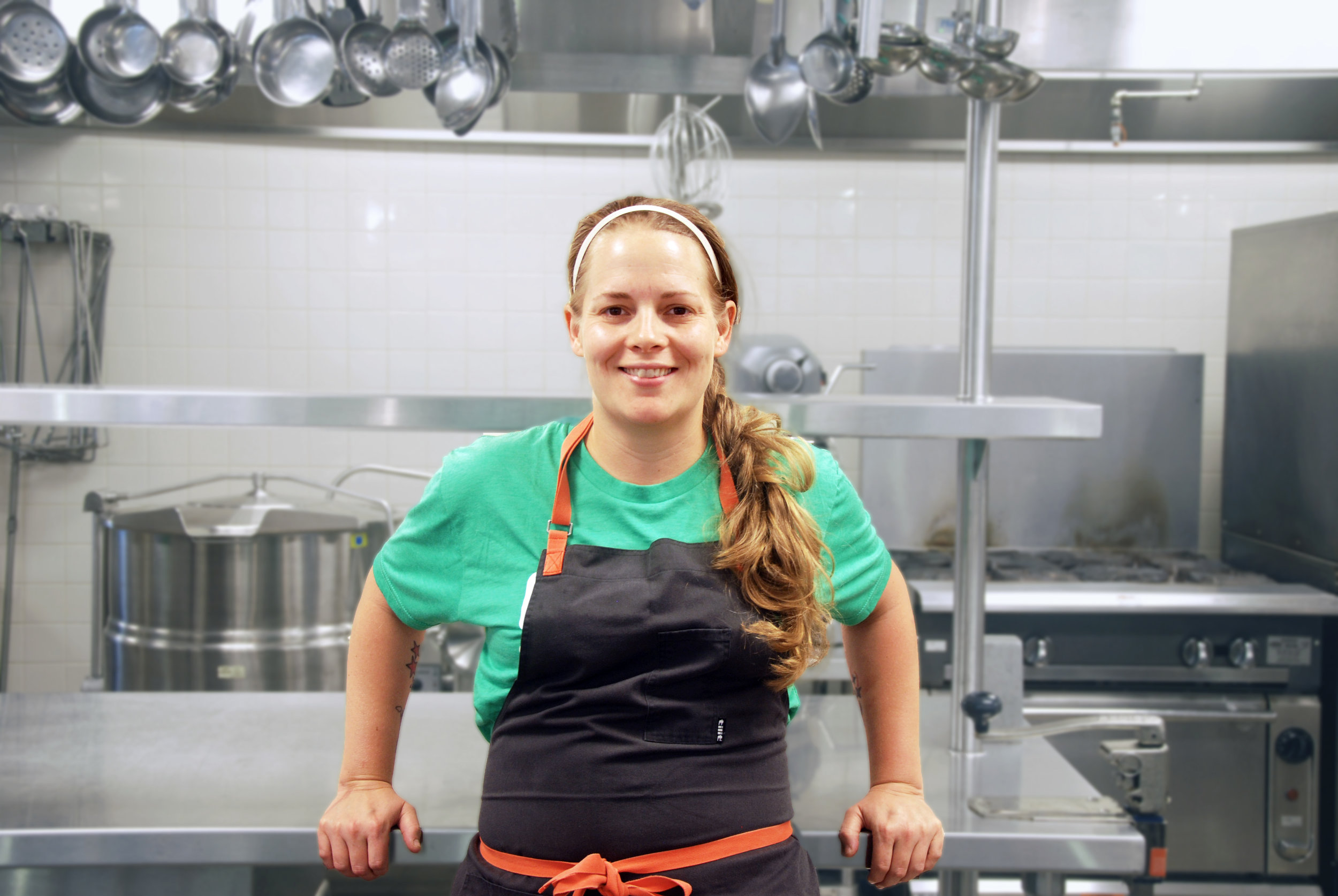 April was born and raised in Pennsylvania. After graduating from the Culinary Institute of America in Hyde Park, she spent ten years cooking at several resorts in Phoenix, Arizona before returning to the East coast as an executive sous chef for Newport Restaurant Group in Newport, Rhode Island. April joined  Brigaid  in 2016.
