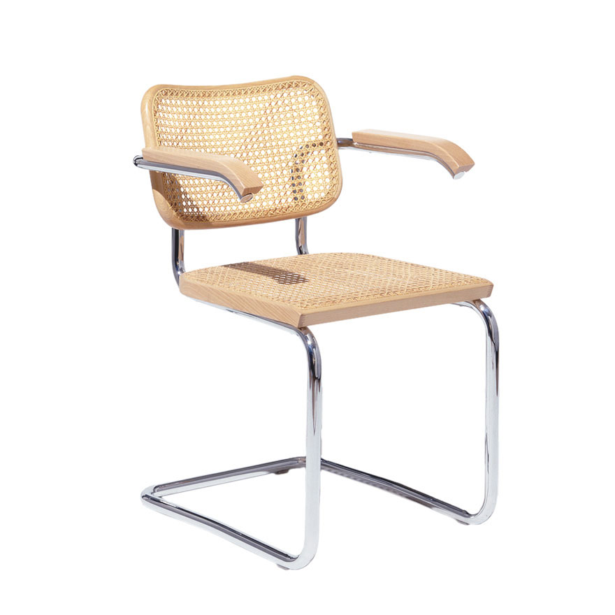 Fig 2 -Breuer's  Cesca  chair, as currently offered by Knoll