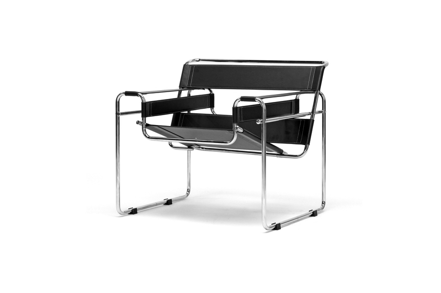 Fig 4 -Baxton Studio version of Marcel Breuer's  Wassily  chair; cited by Be Original Americas as unlicensed