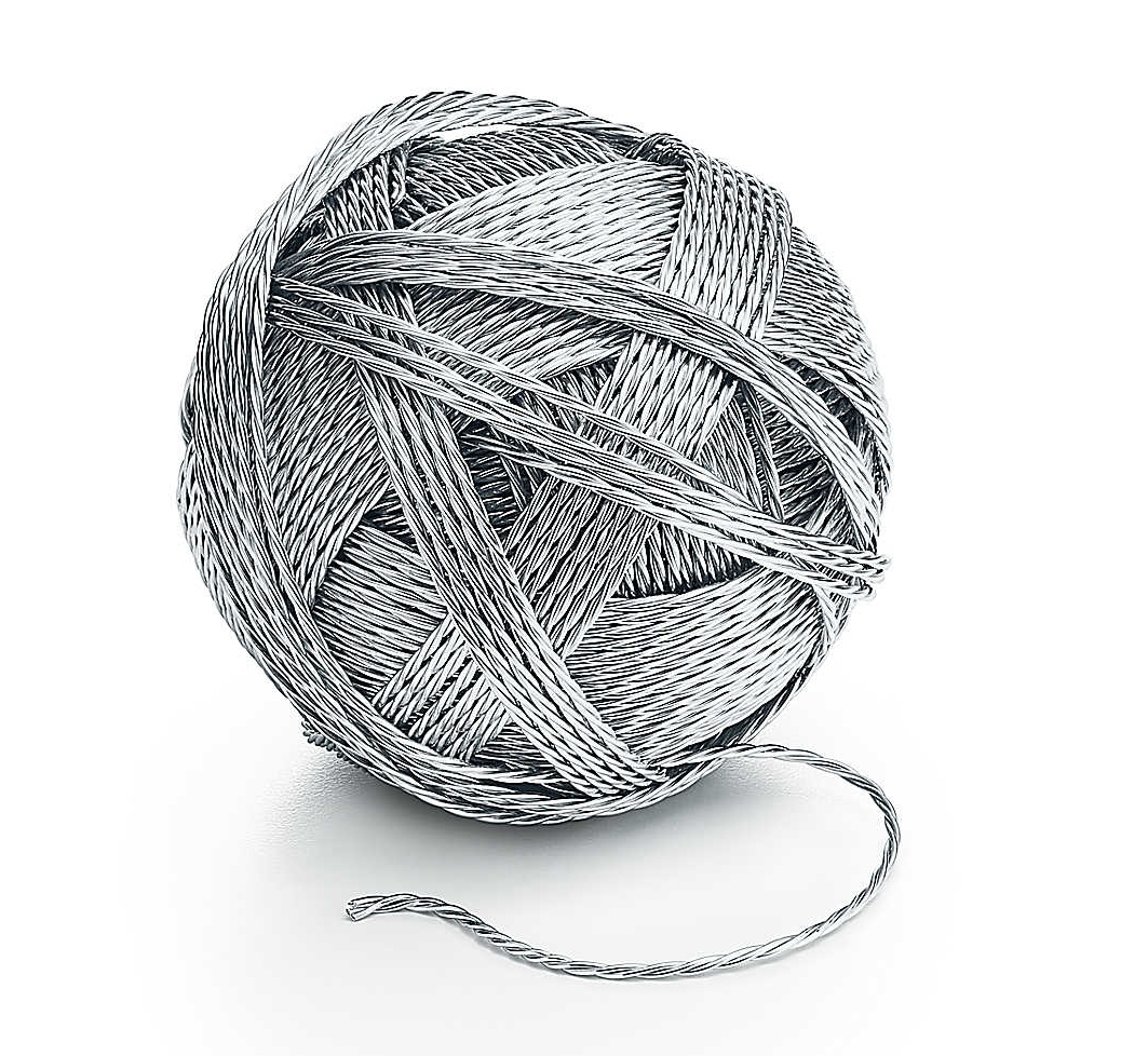 Tiffany & Co.'s ball of yarn costs $9,000.