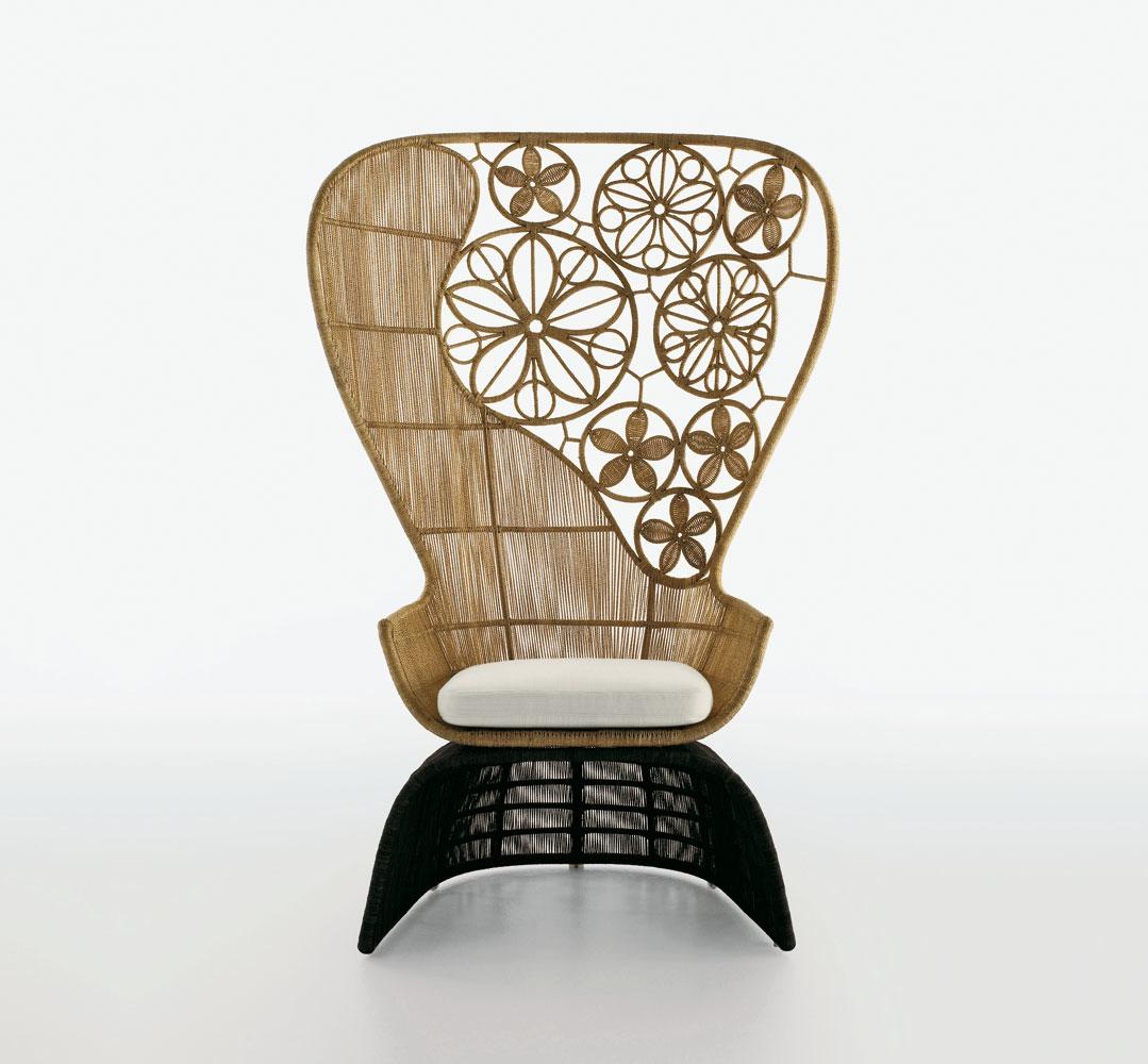 Crinoline Chair (2008 for B&B Italia).