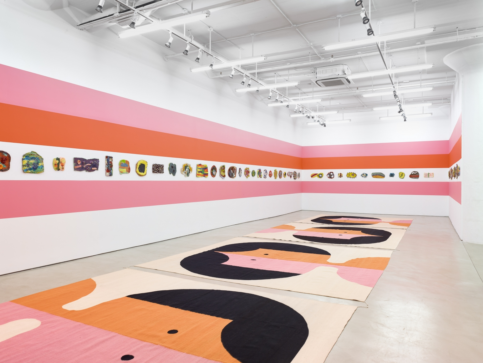 """Polly Apfelbaum, """"The Potential of Women,"""" 2018. Alexander Gray Gallery, New York City."""