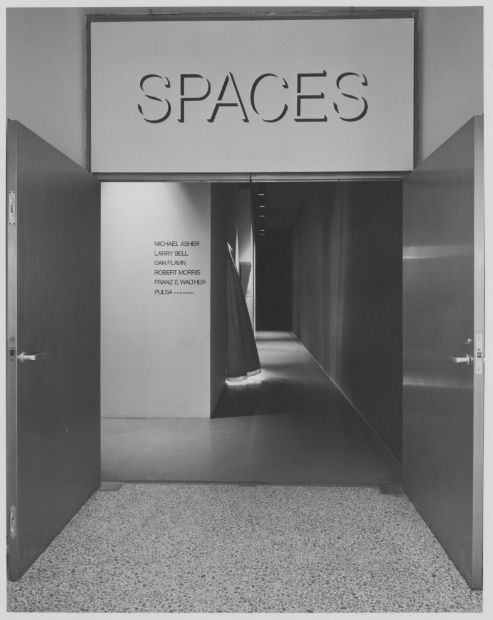 Spaces  at the Museum of Modern Art, 1970.