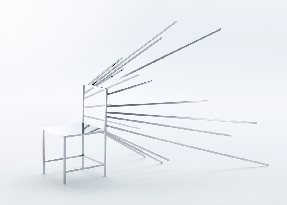One of the series  Fifty Manga Chairs , by nendo.