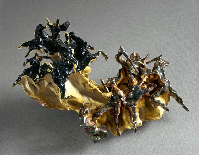 Battle (Battaglia) , 1947. Ceramic.