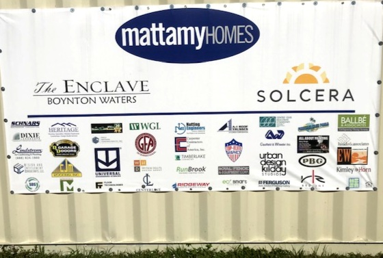 Mattamy Enclave Boynton RunBrook Logo on Site.JPEG