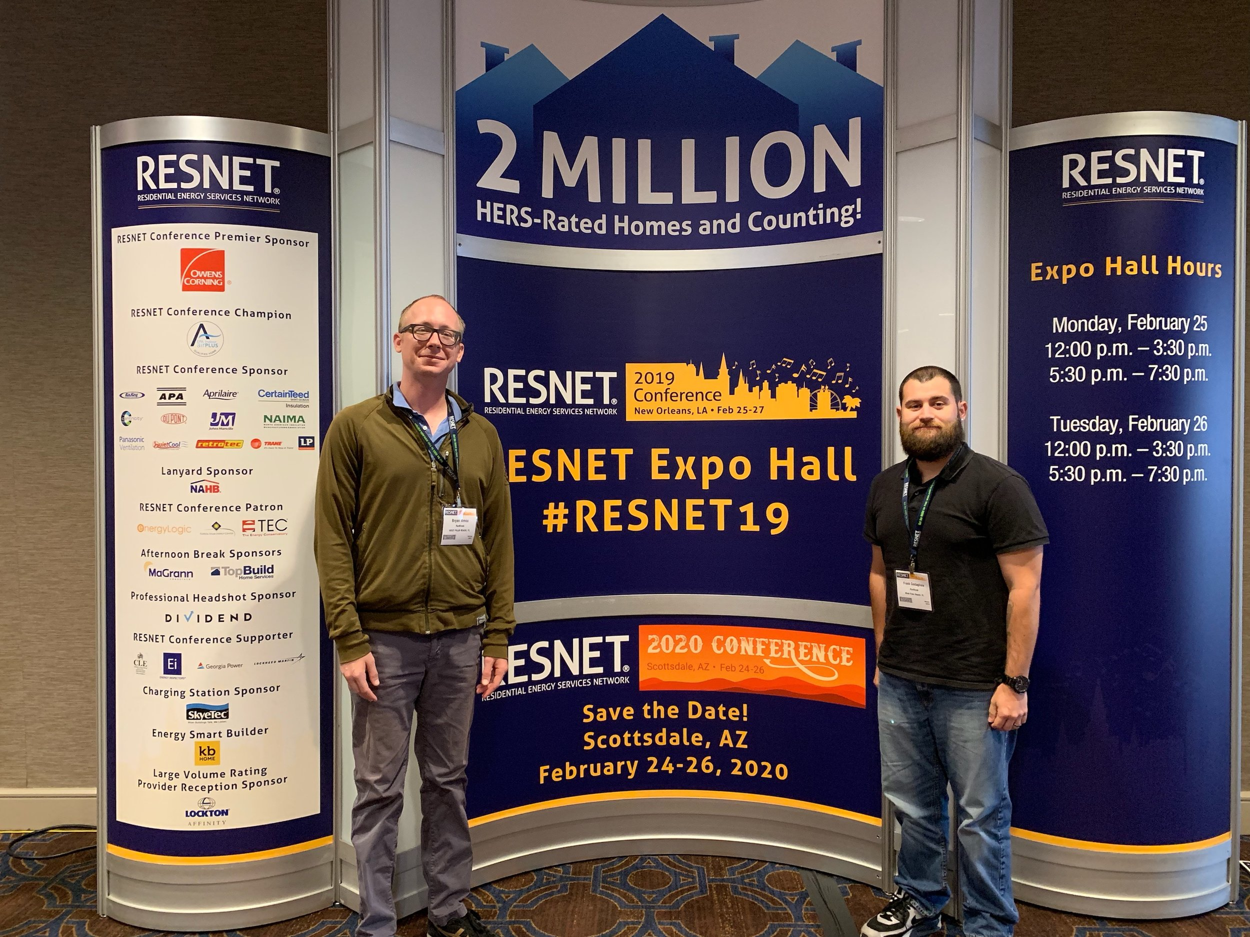 RunBrook at RESNET 2019 Conference New Orleans