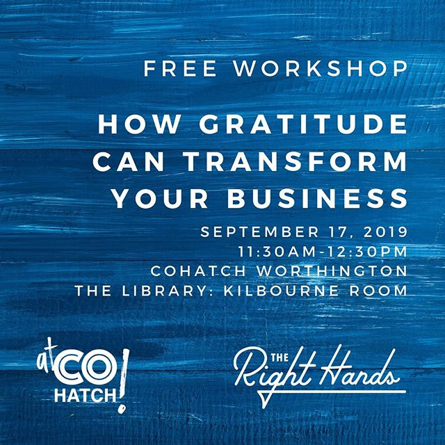 I have to admit, I have been getting really frustrated about things completely out of my control lately. This usually happens when my empathy reserves are low. The best way to fill them? Expressing gratitude. This practice isn't always easy, but is vital, and absolutely essential in all aspects of of life (including business!). Learn why, and how to take steps to sharpen this important skill in this free workshop! Learn more at the link in my profile.